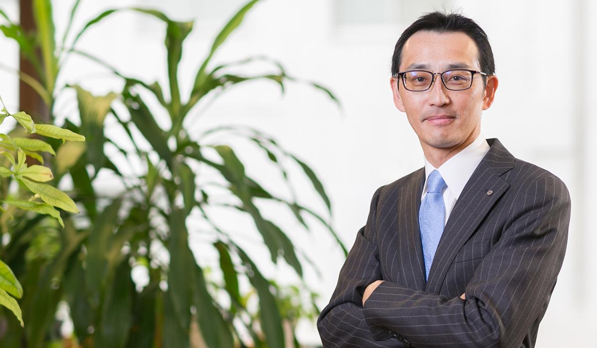 代表取締役社長久保田勝彦