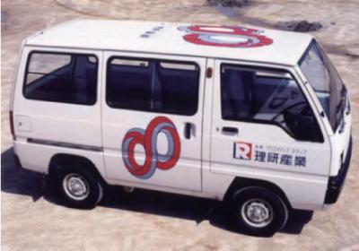 1986年車両デザインを一新し、企業イメージの統一を図る。